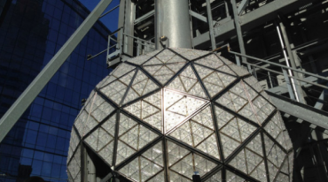 The New Year's Eve ball drop is an annual event donna balancia